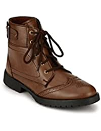 Big Fox Men's Leather High Ankle Boots