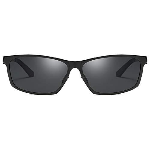 WULE-Sunglasses Unisex Schwarz/Rot/Gelb Objektiv Schwarzer Rahmen Herren-Sonnenbrillen for das Fahren Radfahren Sport Aluminium Magnesium und Metall Material New Night Vision Goggles Sonnenbrillen