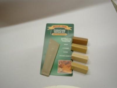 1 x Laminate Floor Worktop Furniture Repair Kit (L) For Beech, Light Beech, Warm Beech, Honey Beech, Ash, Birch, Light Oak, Maple, Pine, Medium Oak, Light Teak, Natural Teak and similar shades - inexpensive UK light store.