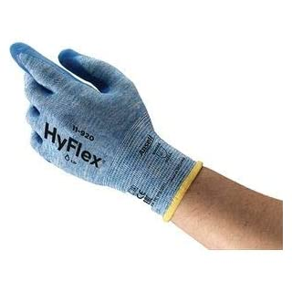 Coated Gloves, Knit Wrist, L, Blue, PR by Ansell
