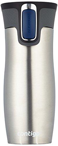 Contigo 1000-0007 - West Loop , color plata (acero inoxidable), 470 ml