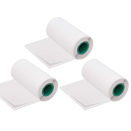 Aibecy Rollo papel térmico adhesivo 56 * 30mm/2.2
