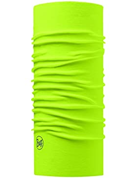 Buff - Pañuelo multifuncional, color amarillo, talla única