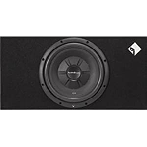 Rockford Fosgate R2S – 1 x 12 30.48 cm Prime R2S Slim in Plans Subwoofer Sub Optimized Box of the Case