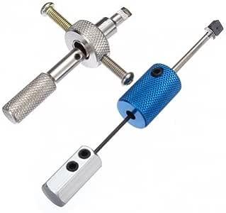 NEW 2pcs Disc Detainer  Padlock Tool Locksmith Tools Lock Picks Set