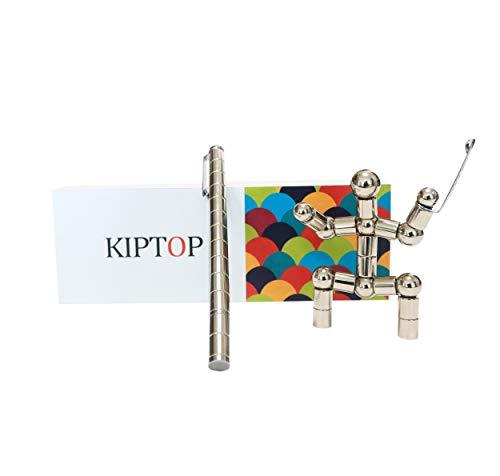 nteressantes Kombinationsspielzeug | Wunderbaren Magnetischer Kugelschreiber | Fidget Toy Geschenk | Stylus Stift | kreative Jungen Geburtstagsgeschenk (Pen_Silber) ()