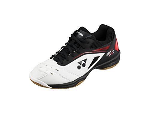 Yonex Badmintonschuh SHB Power Cushion 65 R2 Weiß/Rot (44 EU)