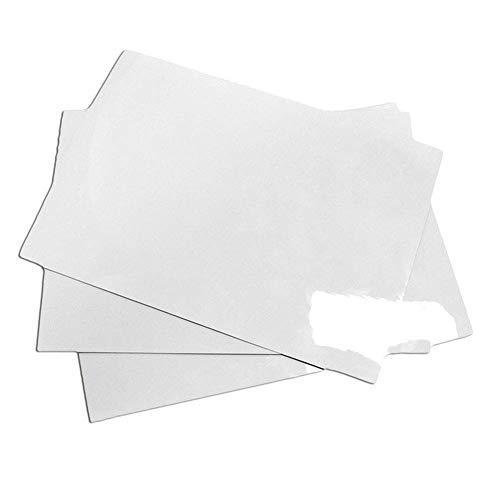 Ogquaton 3Pcs-A5 Multifunktions magnetische löschbare Soft Board Aufkleber tragbare Haushaltsnachricht Whiteboard langlebig und praktisch Braten Board