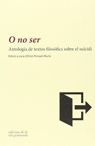 O No Ser (Minor (catalan))