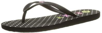Roxy Women's BAMY J SNDL GPK Beach & Pool Shoes Black Size: 3.5