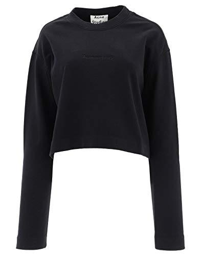 ACNE STUDIOS Damen Ai0022900 Schwarz Baumwolle Sweatshirt - Acne Pullover