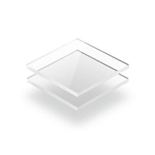 Kunststoffplattenonline.de - Acrylgas XT Platten/Acrylglasplatten XT - Transparent - 2mm im Zuschnitt (50 x 40 cm (500 x 400 mm)) -
