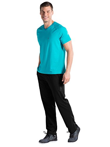 Jockey Mens's Cotton Sport Track Pants Slim_fit(8901326116067_sp-27 Black