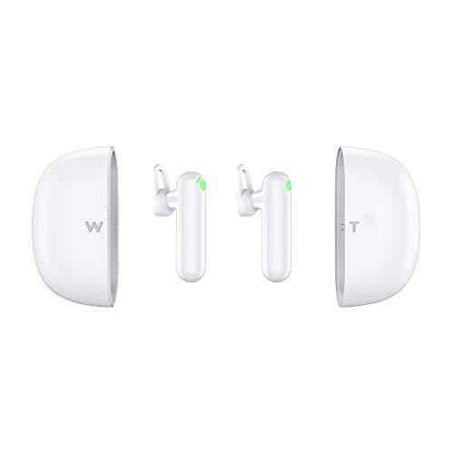WT2 Plus Dispositivo traduttore linguistico - supporta 36 lingue e 84 accenti, cuffie con conversione vocale istantanea AI, cuffie wireless Bluetooth Smart Translate con app per iOS e Android
