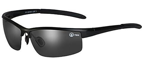 Nexi S20BP Cobra Sonnenbrille ideal zum Autofahren oder täglichen Gebrauch für Herren und Damen mit Polarisation inklusive Etui und