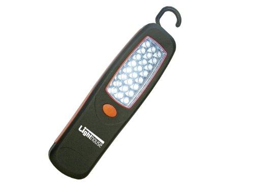 Lighthouse Lampe magnétique portative avec crochet 24 LED