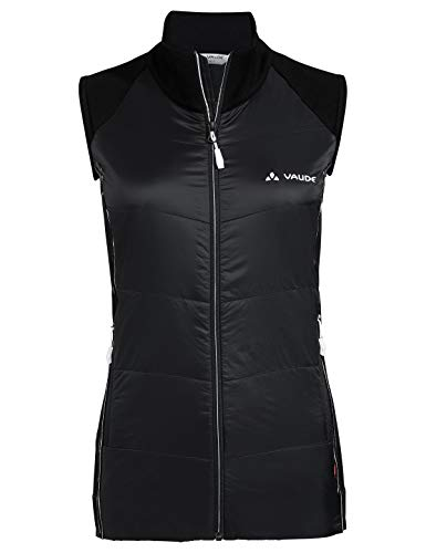 VAUDE Damen Larice LesSeam Weste, Black, 34/36