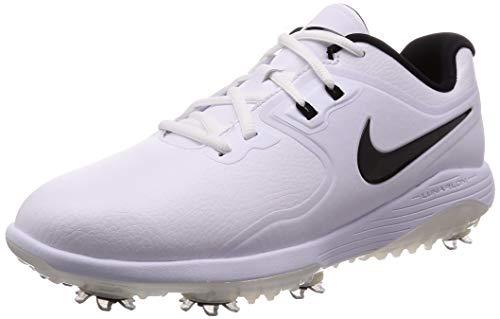 Nike Vapor PRO (w), Scarpe da Golf Uomo, Bianco (White/Black/Volt 101), 40.5 EU