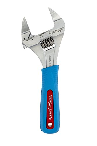 Channellock-Chiave regolabile a ganasce 6SWCB sottile, apertura ganascia WideAzz 0,86 (.34 cm e di colore: blu, ergonomica per Comfort (6 15,24 cm