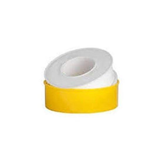 SBD Teflon Tape 12mm x 10 Meter for Pipe Fittings, Plumbing, Aquarium,Washing Machine,Water Tap,Ro Tap to fix Water Leak, Colour May Vary (Pack of 5)
