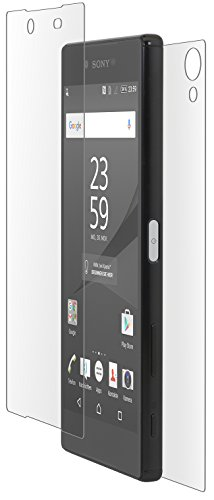 StilGut Sicherheitsglas-Folie kompatibel mit Sony Xperia Z5 Premium, Vorder- & Rückseite