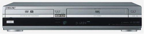 Sony RDR VX 420 DVD-Player / VHS-Rekorder Kombination (DivX-zertifiziert) silber