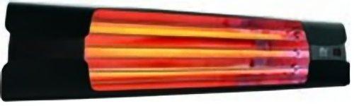 Lampada Riscaldante a Raggi Infrarossi da Installazione VORTICE Thermologika Design Grigio Antracite 70005