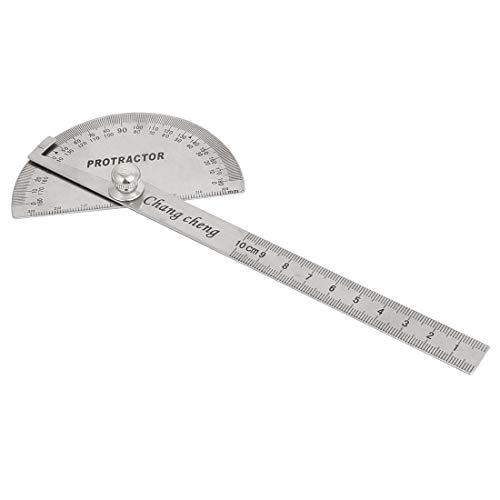X-Dr 2 Stück Rotation um 180 Grad Winkelmesser Lineal 195mm Länge (b6340c9d76f3c0e9efba0e8c886a2018)