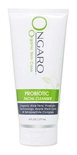 Ongaro Beauty Facial Cleanser; Cleans Clogged Pores While Hydrating For A Beautiful Radiant Complexion; With Organic Aloe Vera, Probiotic Technology, Plant Stem Cells And Peptides; 6oz