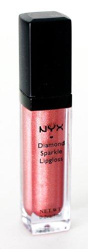 NYX Cosmetics diamante de la chispa de brillo de labios - Cobre