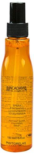 Phytorelax Macadamia Oil Complex Instant Shine Finishing Spray, 5 Oz. by Phytorelax