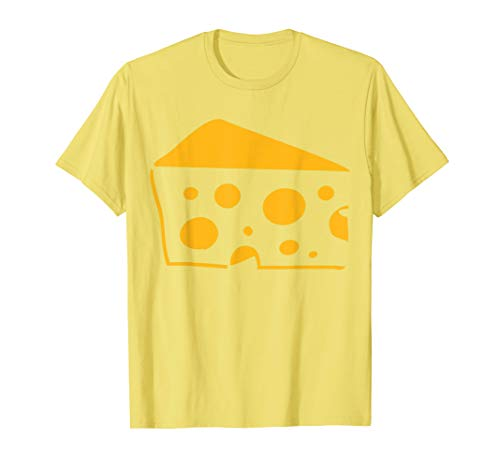 Big Cheese Kostüm Süßes Lustiges Gemüse Halloween Outfit T-Shirt (Big Cheese Kostüm)