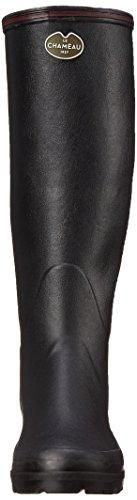 Le Chameau - Giverny, Bottes En Caoutchouc Noires Pour Femmes (schwarz (noir 0247))