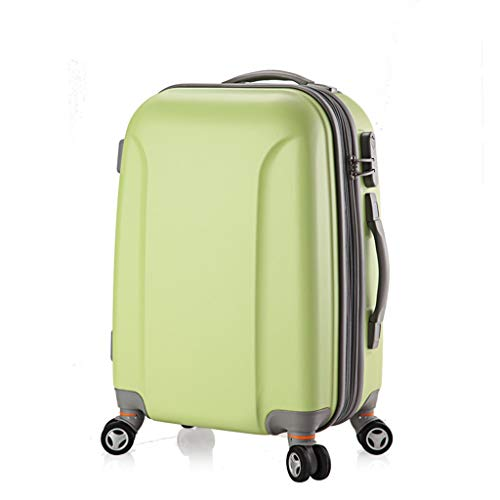 4f2e0115a49c Mysida Valigetta Trolley, Valigia Cabina Leggera ABS ABS High-End Password  Business Travel Carry-on Hand Luggage 4 Ruote Spinner (Colore : Green(B),  ...
