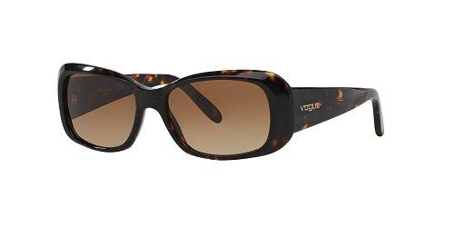 Vogue 0vo2606s w65613, occhiali da sole donna, marrone (havana/brown gradient), 52