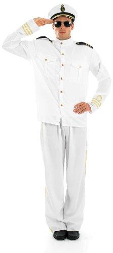 Kostüm Jester Männlich - Marine Offizier - männlich - Adult Kostüm