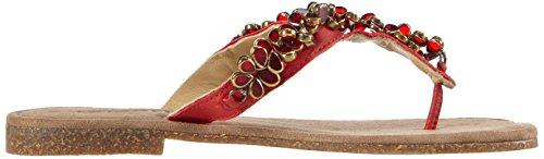 Tamaris 27129, Tongs femme Rouge - Rot (SCARLET 571)