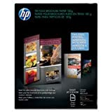 """Tri-Fold Brochure Paper,8-1/2""""""""x11"""""""",48Lb,100 Sheets,WE/Matte, Sold as 1 Package, 100 Each per Package"""