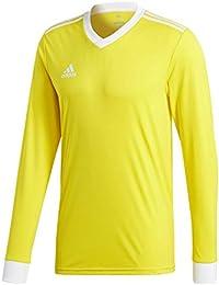 Adidas TABELA 18 JSY L Camiseta, Niños, amaril/Blanco, 140 (9