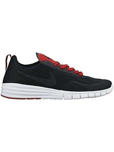 Nike NIKE SB LUNAR PAUL RODRIGUEZ 9, Sneakers basses mixte adulte Noir