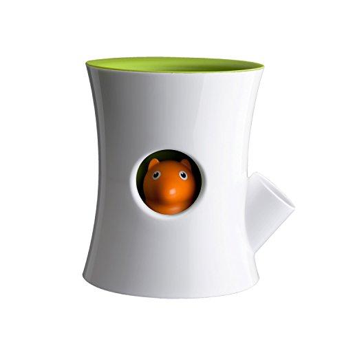 Qualy Pot Pot selbstbewässernd Blanc/Vert