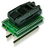 Supreme-optimierte BATRONIX-TSOP48-DIP40-Richtlinie über unlautere Geschäftspraktiken PRO-Adapter, TSOP48-DIP40-(1 Stück) (3yr ® Min Cleva Garantie