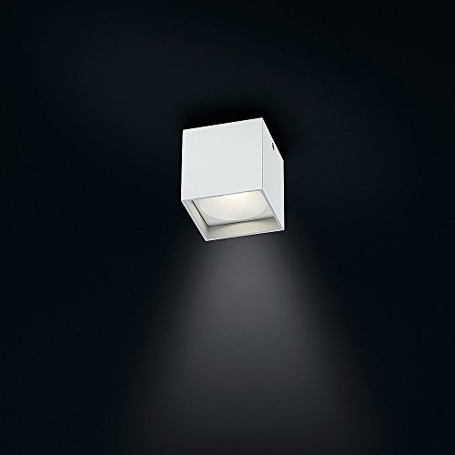 Helestra LED Downlight Dora 1 Mattweiß IP40 | LEDs fest verbaut 4W 300lm warmweiß | 15/1560.07