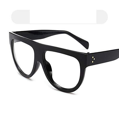 SNXIHES Sonnenbrillen Frauen Neue Runde Sonnenbrille Damen Vintage Flat Top Sonnenbrille Männer Outdoor Persönlichkeit Acryl Brillen Uv400 Ic64-5