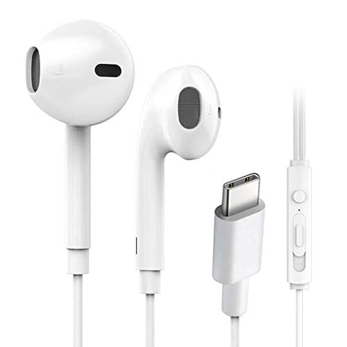 chunyang Handy-Draht-Steuerung Typ-c Kopfhörer Earbuds Handy Musik In-Ohr-Kopfhörer-Kabel-Headset