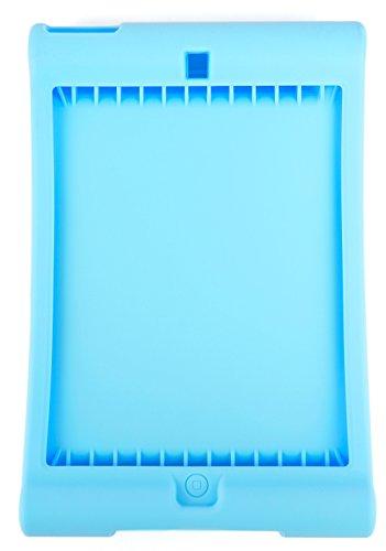 DURAGADGET Blaue, maßgefertigte Silikon-Hülle für Apple iPad Mini (A1432 | A1454 | A1455) / Apple iPad Mini 2 (A1489 | A1490 | A1491) / Apple iPad Mini 3 (A1599 | A1600) - Cellular Ipad Gb Mini 128 2