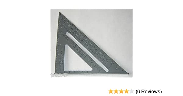 6 Heavy Duty Aluminium Speed Square Measuring Tool Roofing Triangle Joinery