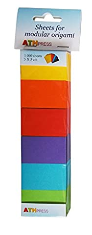 Modular Origami Sheets Craft Paper, Paper, Mustard