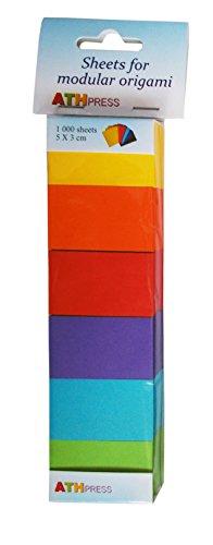 Modulare fogli di carta per Origami, colori