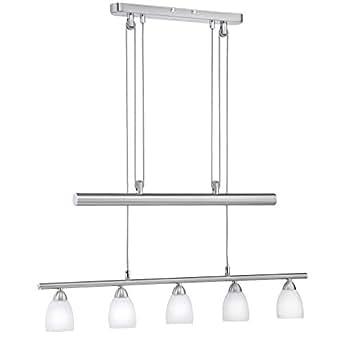 Pendentif de luxe 10W LED plafond suspendu chrome lampe réglable Leuchten Direkt ZLATA